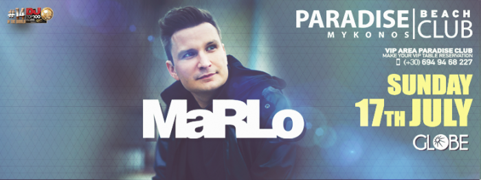 Paradise Club Mykonos presents Marlo