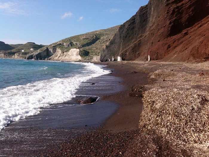 Red Beach Santoirni