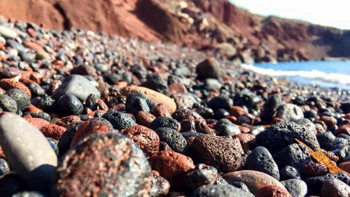 Red Beach Santorini photo by Alex Lim HS