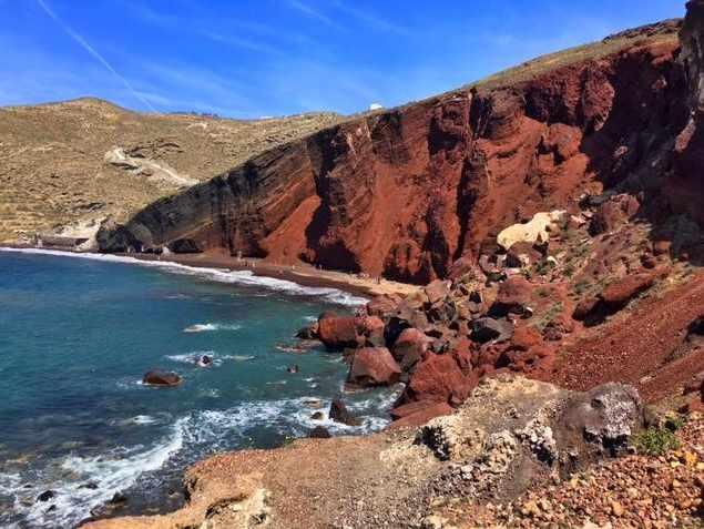 Red Beach Santorini photo by TripAdvisor member Chris B