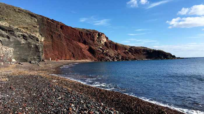 Red Beach Santorini