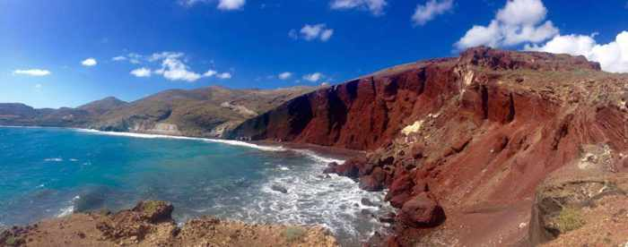 Red Beach Santorini photo by Geeta Patel