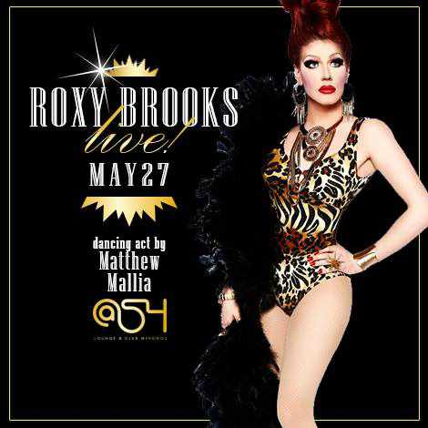 Roxy Brooks nightly live drag shows at @54 club Mykonos