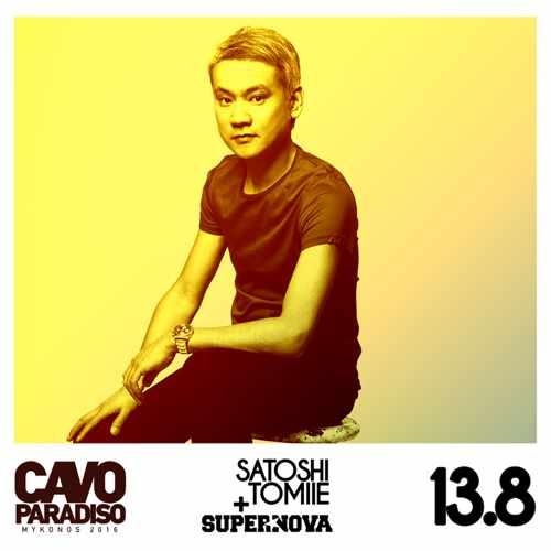 Cavo Paradiso Mykonos presents Satoshi Tomiie
