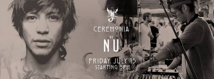 Scorpios Mykonos Ceremonia event by Nu Friday July 15