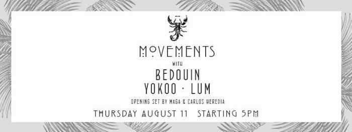 Scorpios Mykonos Movements event