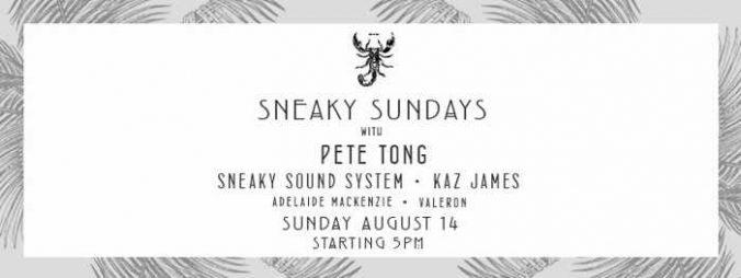 Scorpios Mykonos Sneaky Sundays Event