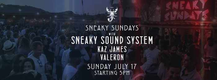 Sneaky Sundays at Scorpios