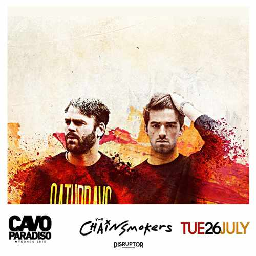 The Chainsmokers at Cavo Paradiso Mykonos