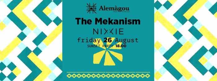 Alemagou Mykonos beach party event