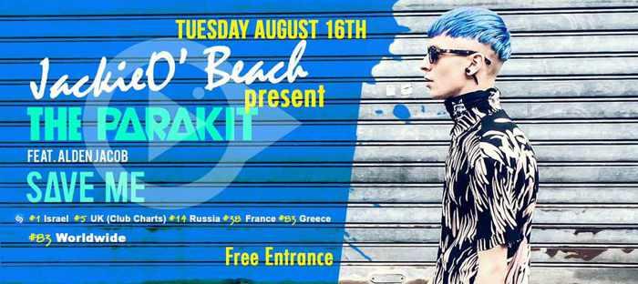 JackieO Beach club Mykonos party event