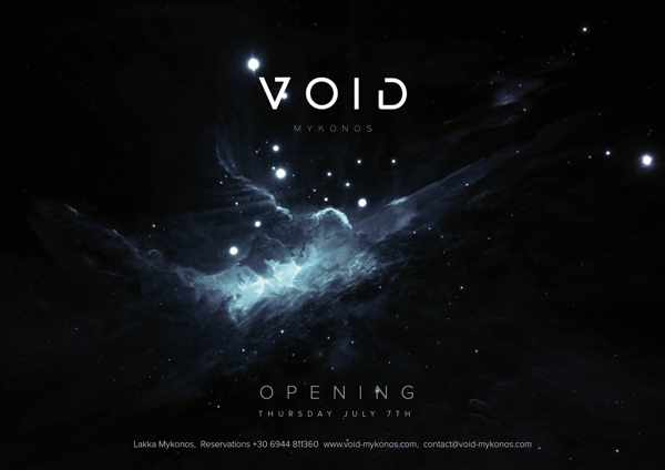 VOID Myonos nightclub