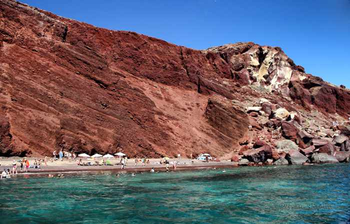 Red Beach Santorini photo by Roman-Shymko.com