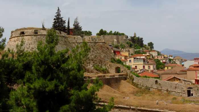 Akronafplia Castle