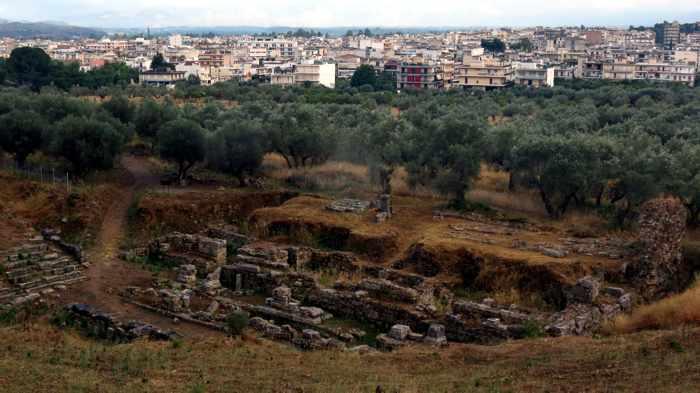Ancient Sparta ruins