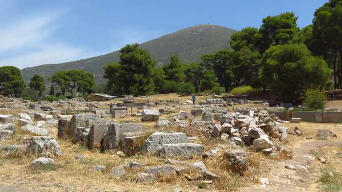 Epidaurus archaeological site I
