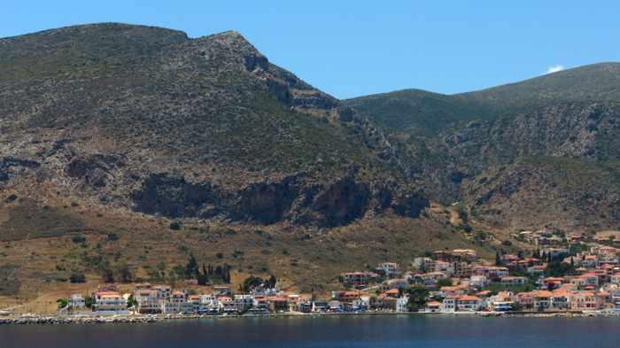 Gefira village at Monemvasia