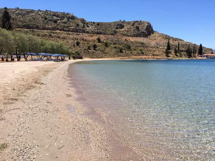 Karathona beach near Nafplio