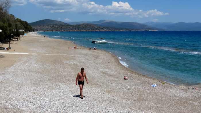 Kastraki beach near Tolo