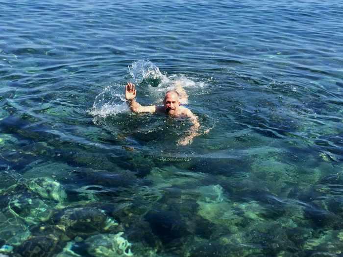Monemvasia swimming spot