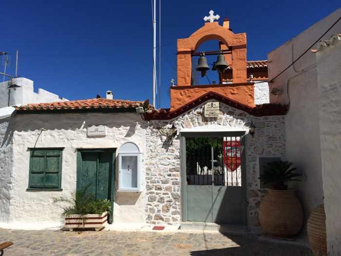 a church in Hydra Town