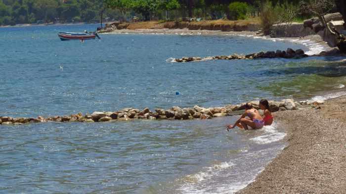 beach at Arcaia Epidauru