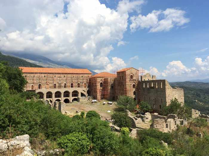 Mystras Palaces of the Despots