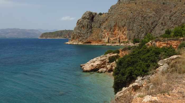 coastline near Nafplio