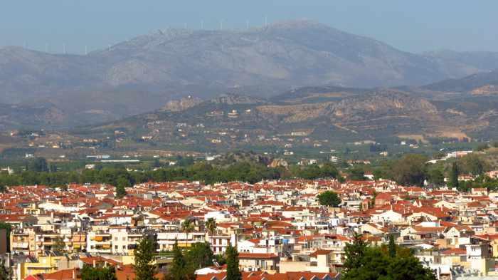 landscape at Nafplio