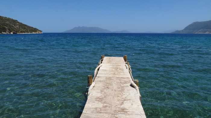 a dock at Arcaia Epidaurus