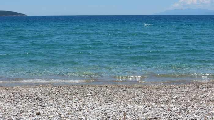 sea view from Plaka beach near Tolo