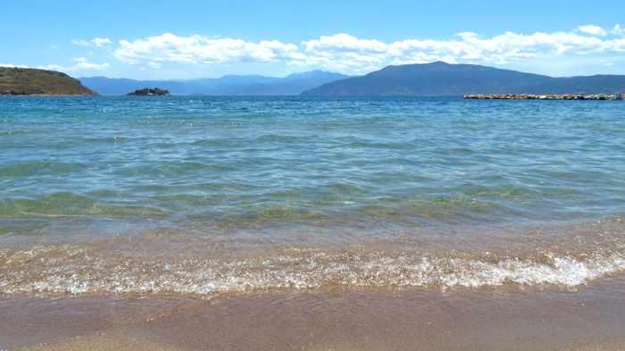 sea view from Karathona beach