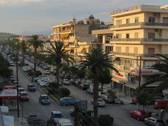 Konstantinou Palaiologou street in Sparta