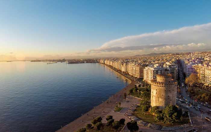 Thessaloniki waterfront