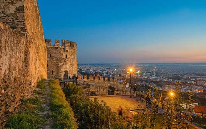 Trigonian Tower in Thessaloniki