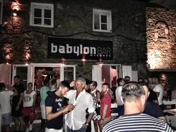 Babylon Bar Mykonos closing party 2016