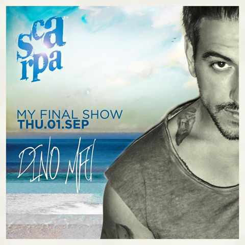 Scarpa bar Mykonos DJ event