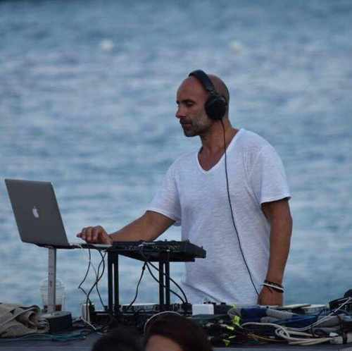 Djbabis Mykonos spinning at Nammos on September 11 and 12