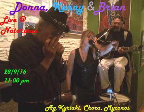 Notorious bar Mykonos rock music event