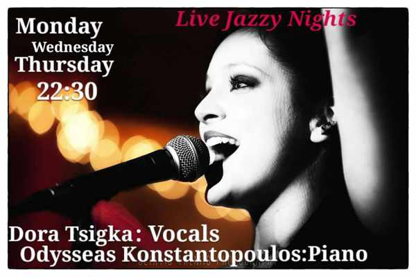 Vinos Bar Mykonos live jazz