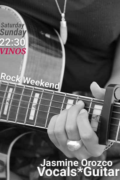 Vinos bar Mykonos rock music event