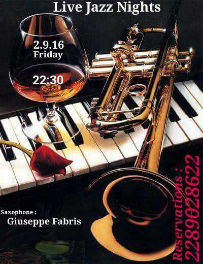 Vinos bar Mykonos live jazz event