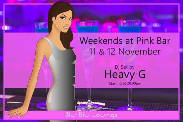 Pink Bar and Blu Blu Lounge Mykonos November 2016 party event