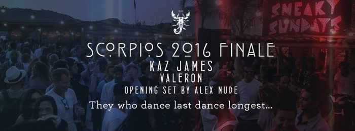 Scorpios Mykonos closing party