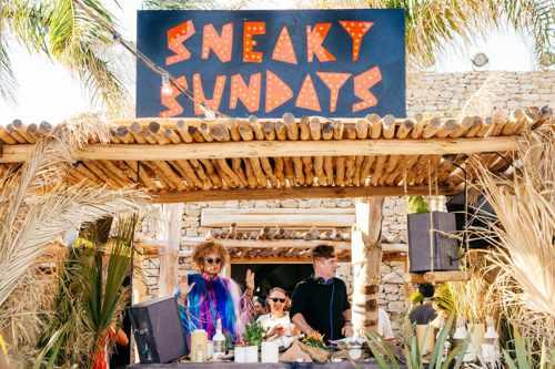 Scorpios Mykonos Sneaky Sundays events
