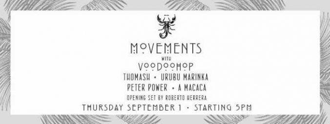 Scorpios Mykonos Movements event September 1