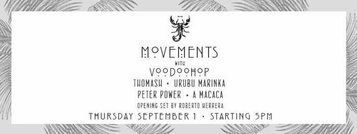 Scorpios Mykonos Movements event September 1