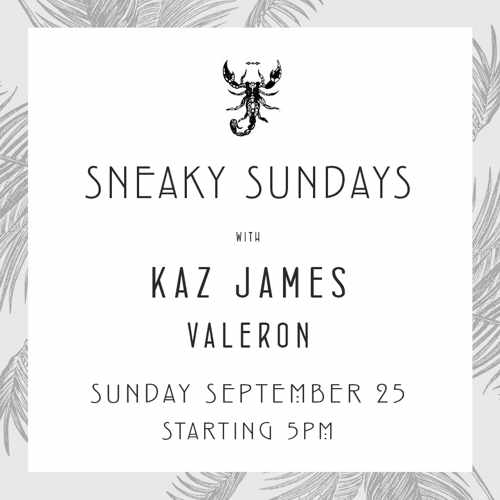 Scorpios Mykonos Sneaky Sundays event September 25