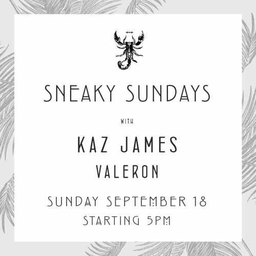 Scorpios Mykonos Sneaky Sundays music event