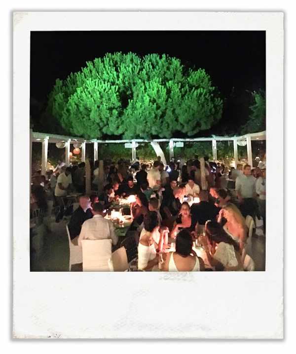 Interni restaurant Mykonos